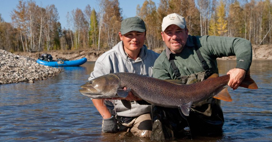 Taimen fishing expeditions in Mongolia